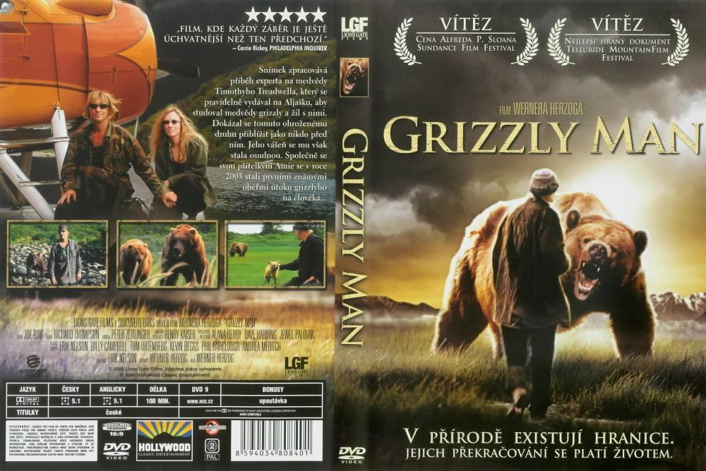 grizzly man film report essay Description #2: werner herzog's documentary film about the grizzly man timothy treadwell and what the thirteen summers in a national park in alaska were like in one man's attempt to protect the grizzly bears the film is full of unique images and a look into the spirit of a man who sacrificed.